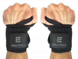 f074cde6e4 The wrist wraps by Evolutionize are made of the highest grade and heaviest  duty material available today, and they actually outlast many of their ...
